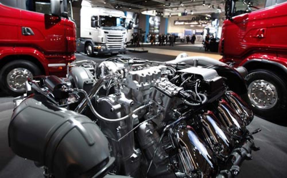 Ремонт грузового двигателя на СТО